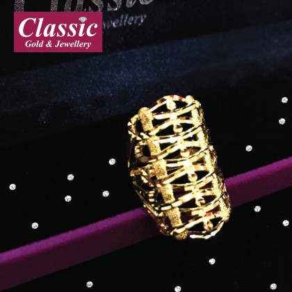 916 Gold Gorgeous Ring