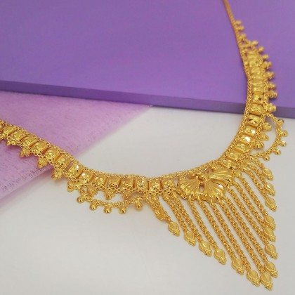 916 Gold Bombay Necklace