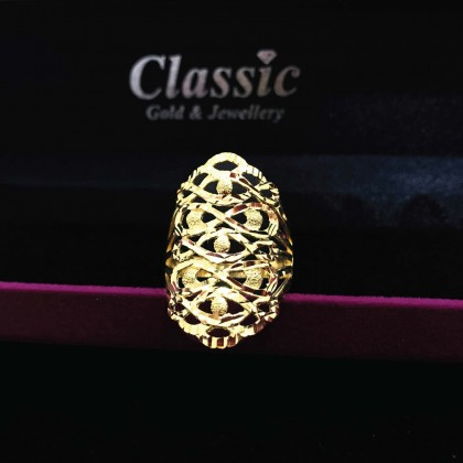 916 Gold Exquisite Ring