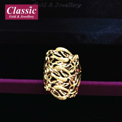 916 Gold Magnificence Ring