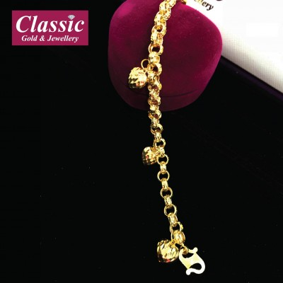 916 Gold Love Bracelet