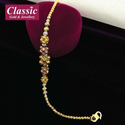 916 Gold Sincere Desire Bracelet