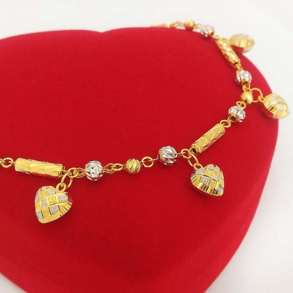 Lovely 916 Gold Bracelet