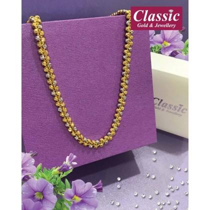 916 Gold Kernel Necklace